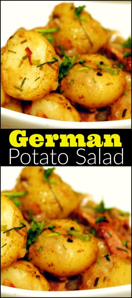 German Potato Salad | Aunt Bee's Recipes