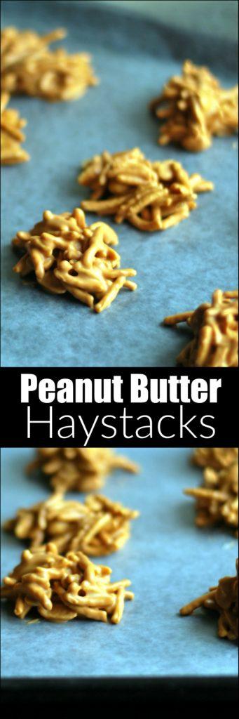 Peanut Butter Haystacks | Aunt Bee's Recipes