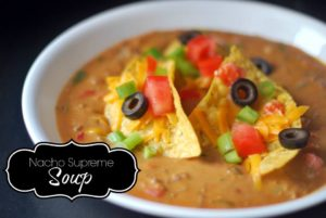 Nacho Supreme Soup | Aunt Bee's Recipes