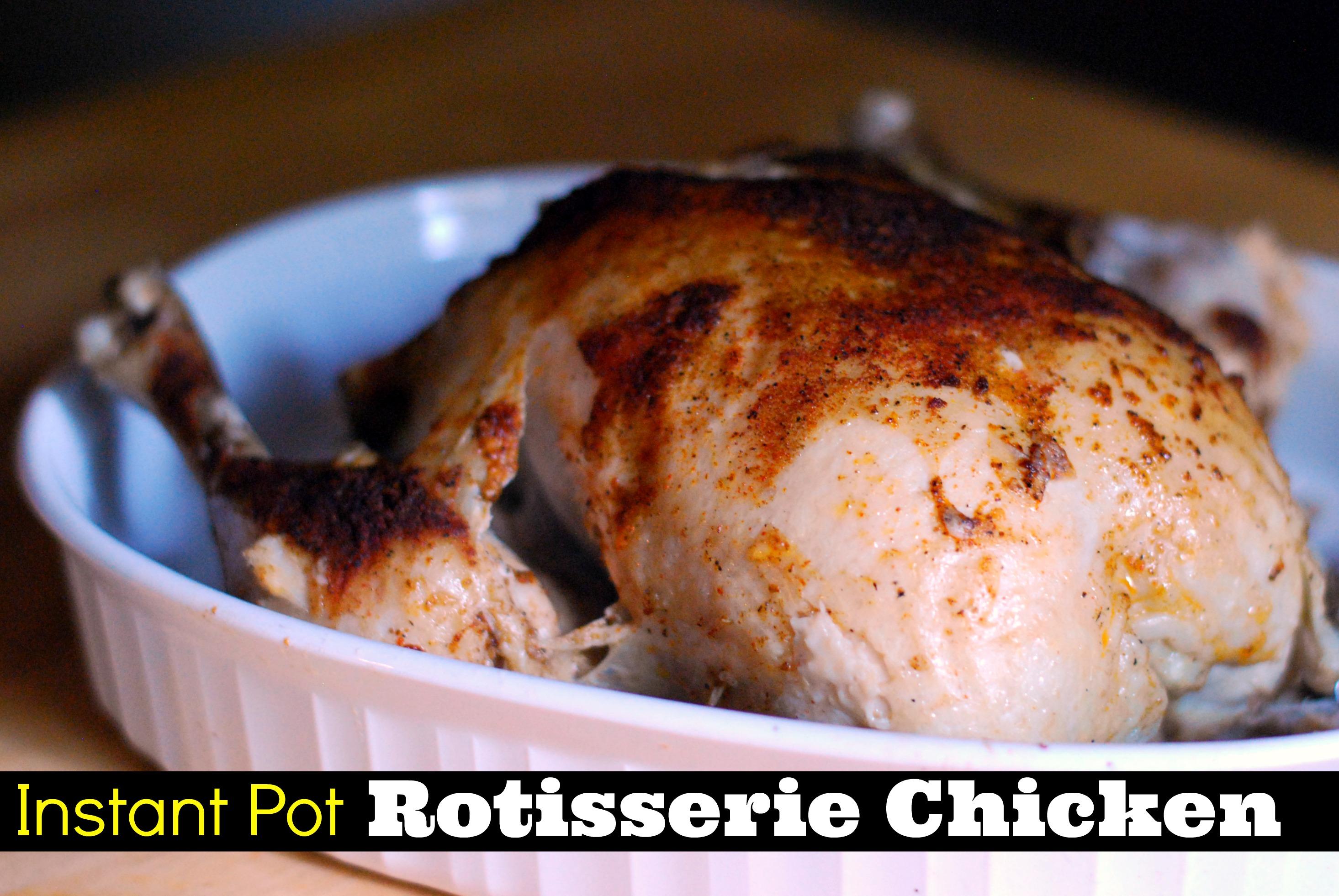 Instant Pot Rotisserie Chicken Aunt Bee S Recipes