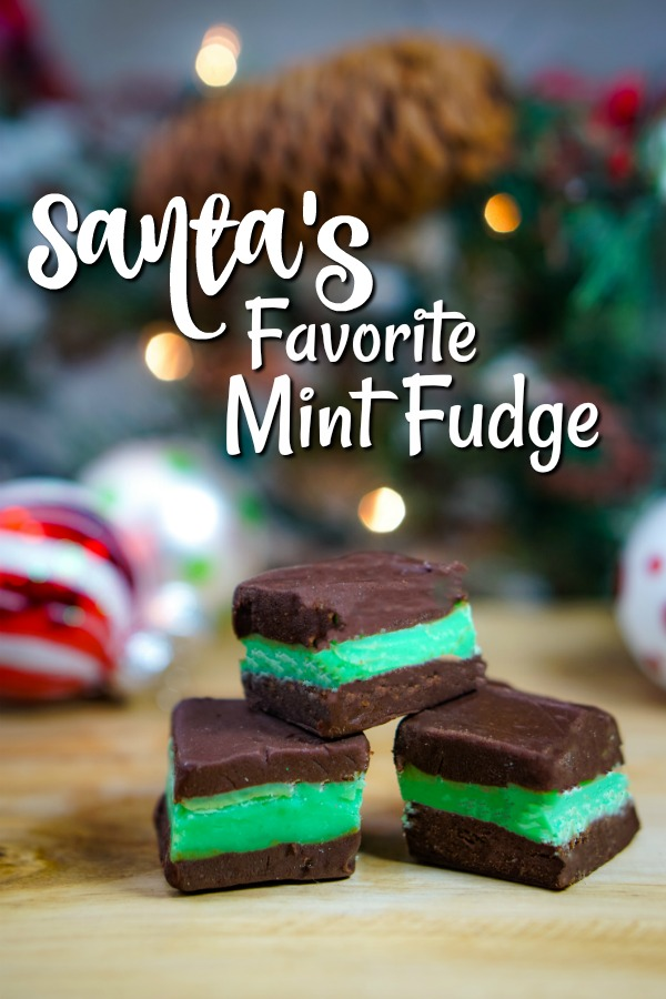 Santa's Favorite Mint Fudge | Aunt Bee's Recipes