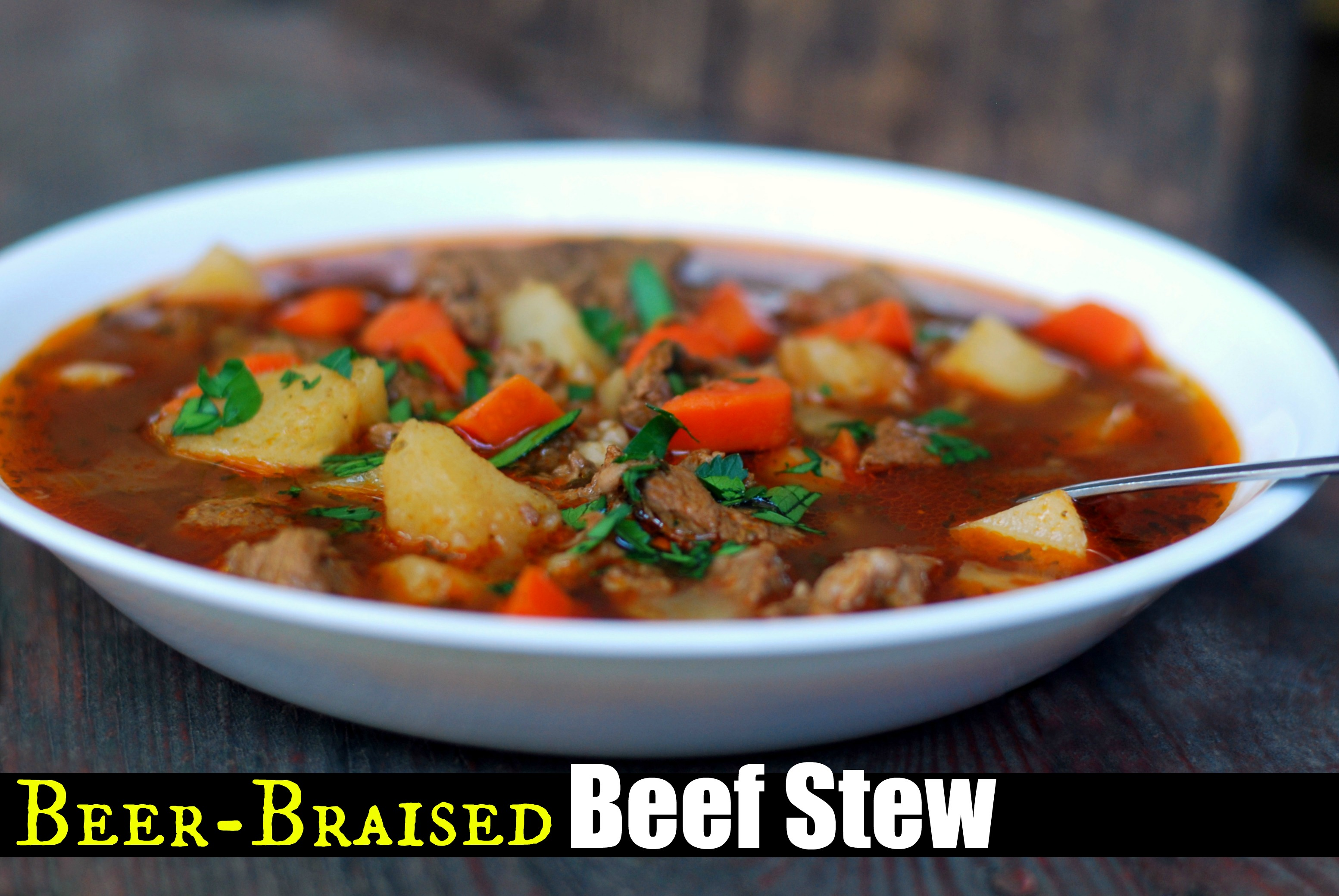Beef And Beer Stew Recipe — Dishmaps
