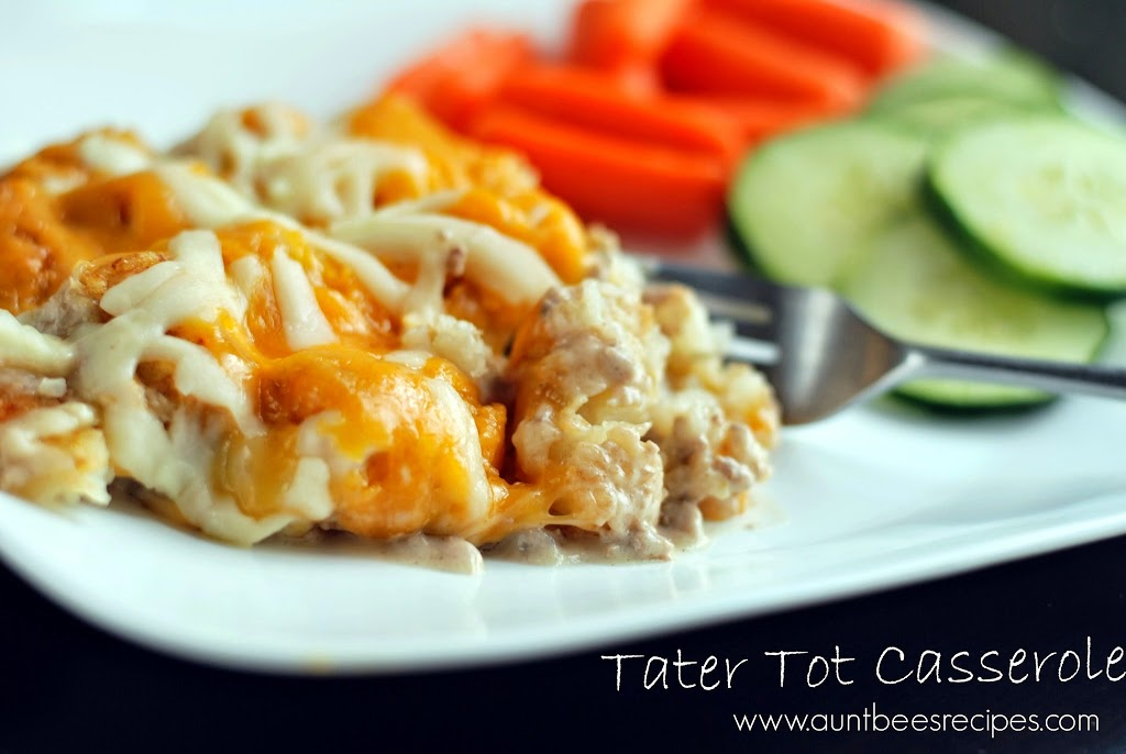 Tater Tot Casserole | Aunt Bee's Recipes