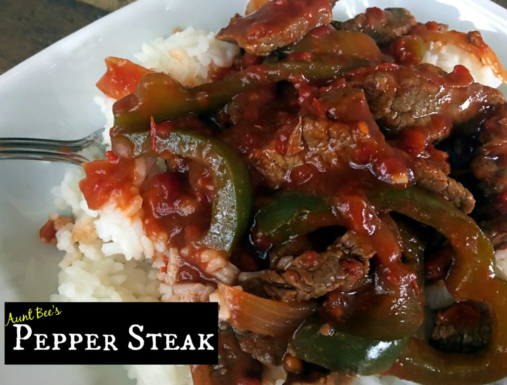 Pepper Steak | Aunt Bee's Recipes