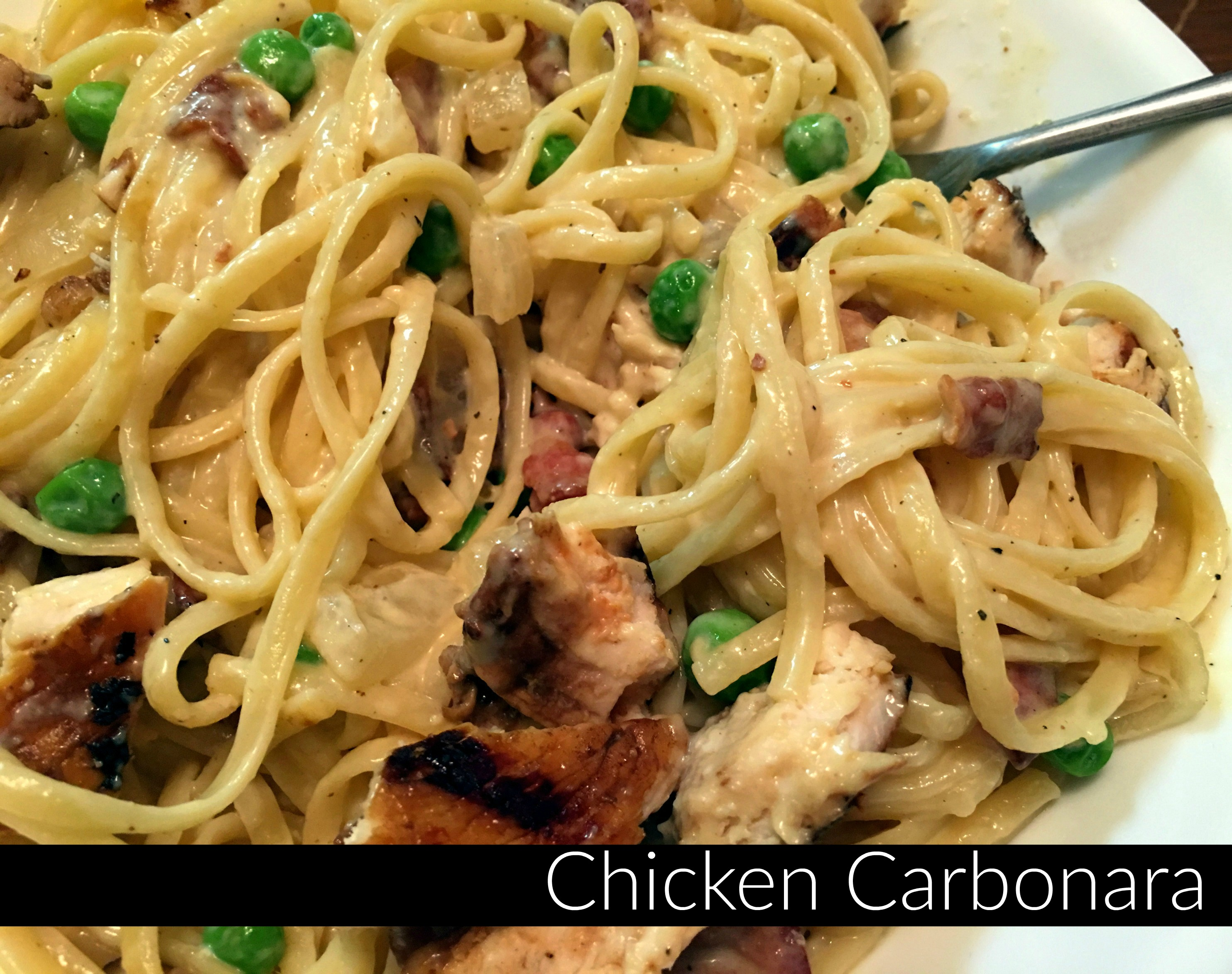 Chicken Carbonara - Aunt Bee's Recipes
