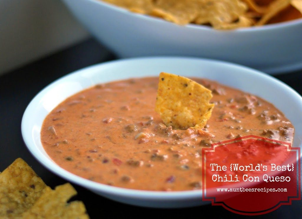 The {Worlds Best} Chili Con Queso | Aunt Bee's Recipes