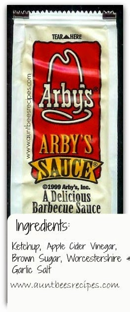 5 Ingredient Arby S Sauce Copycat Aunt Bee S Recipes