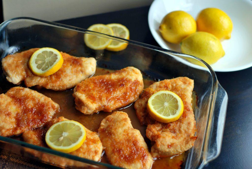 Brown Sugar Lemon Chicken