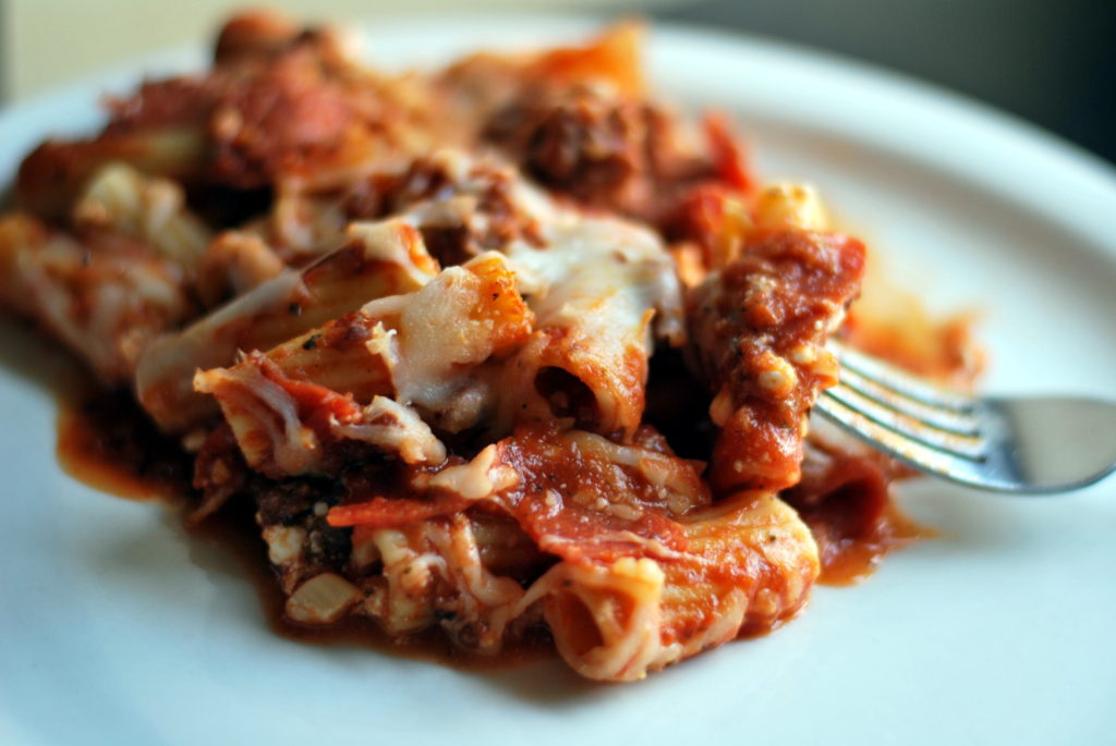 Meat Lover's Ultimate Rigatoni Bake