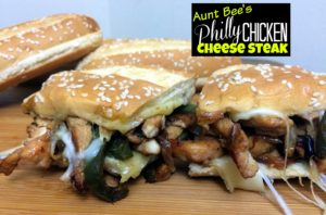 Chicken Philly Cheese Steak | Aunt Bee's Recipes