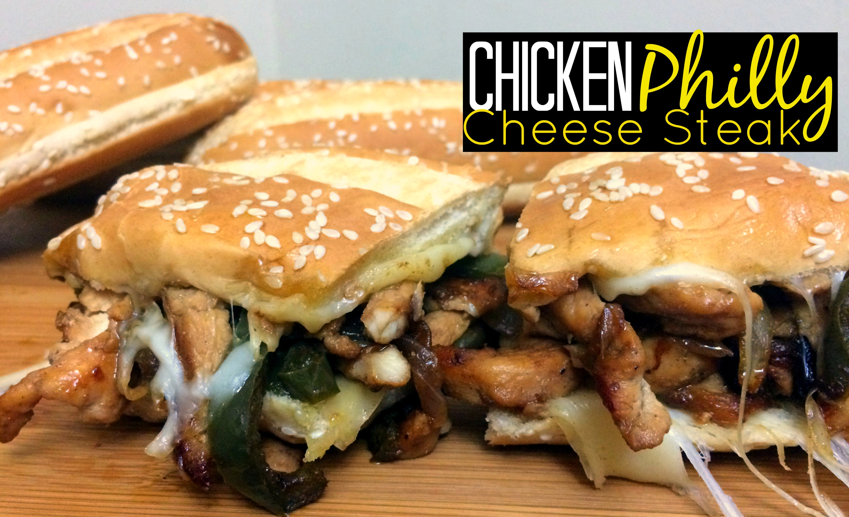 Chicken Philly Cheese Steak - Aunt Bee's Recipes