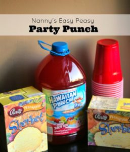 Nanny's Easy Peasy Party Punch   Aunt Bee's Recipes