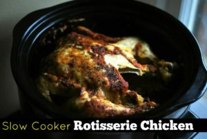 Slow Cooker Rotisserie Chicken | Aunt Bee's Recipes
