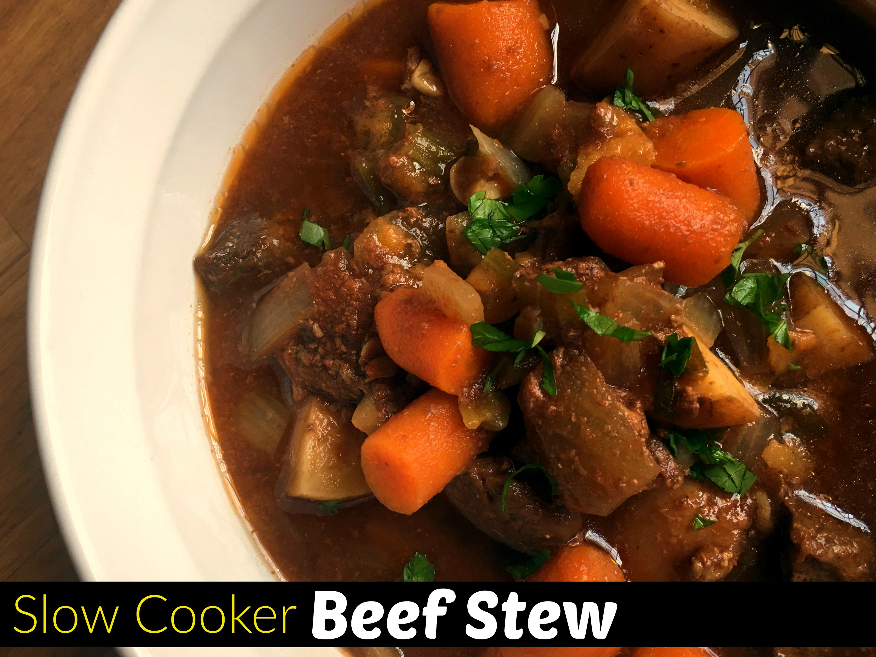Slow Cooker Beef Stew Aunt Bee S Recipes