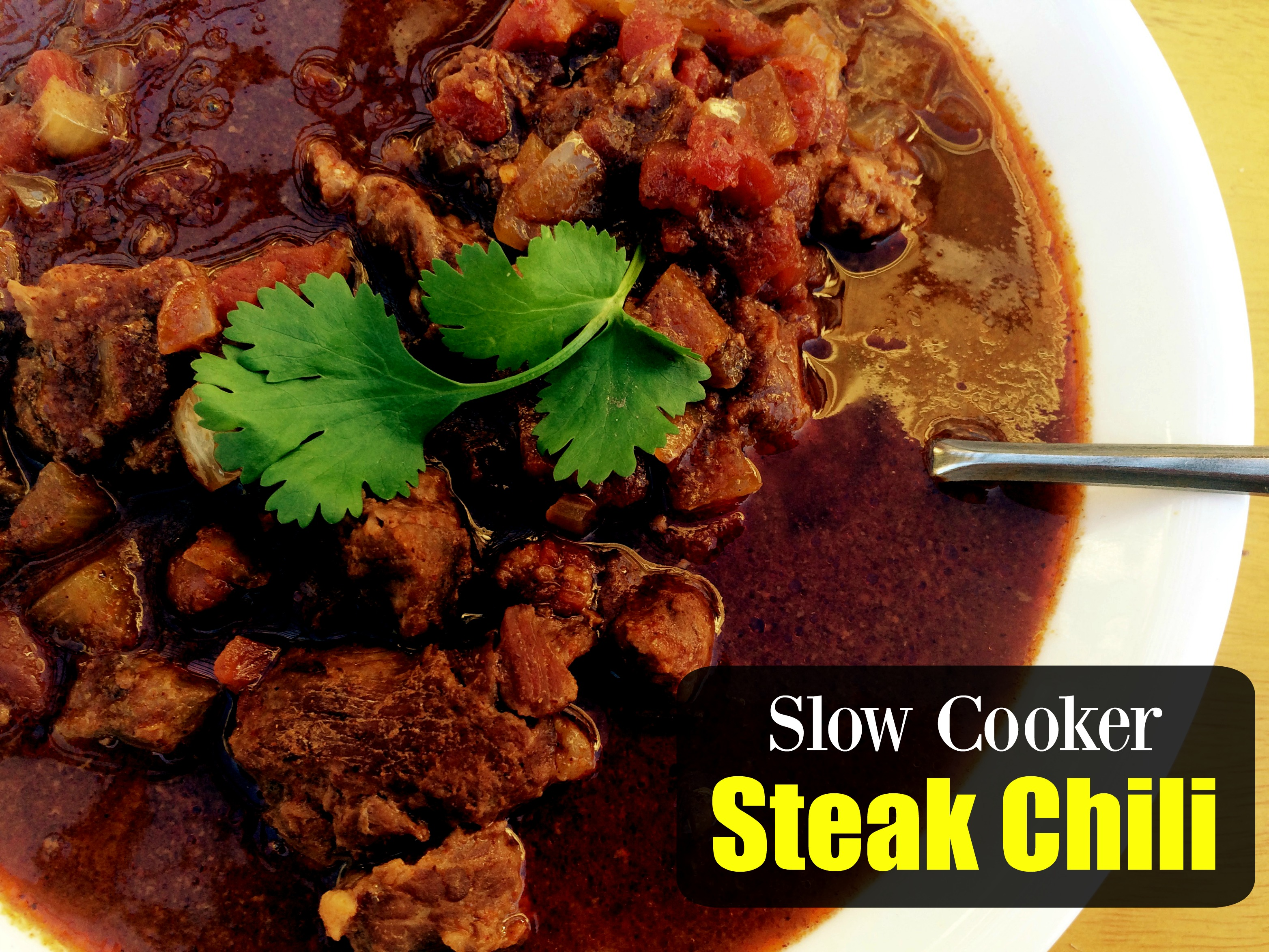 Slow Cooker Steak Chili Aunt Bee S Recipes