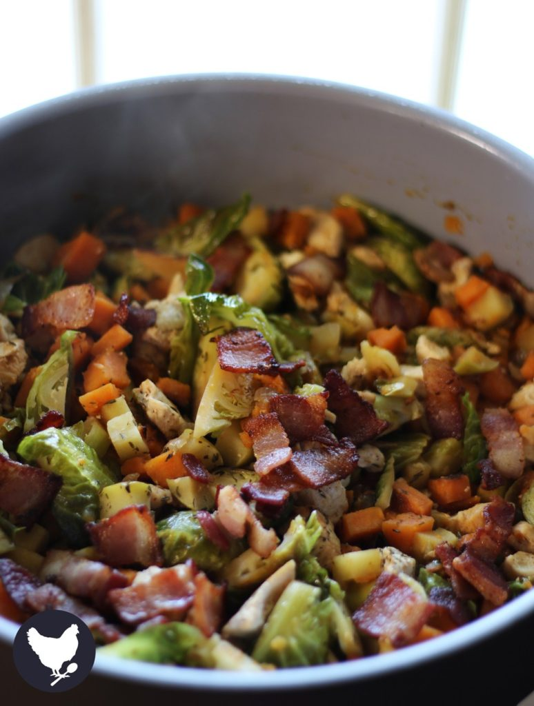 Brussel Sprout Recipes Roasted Bacon