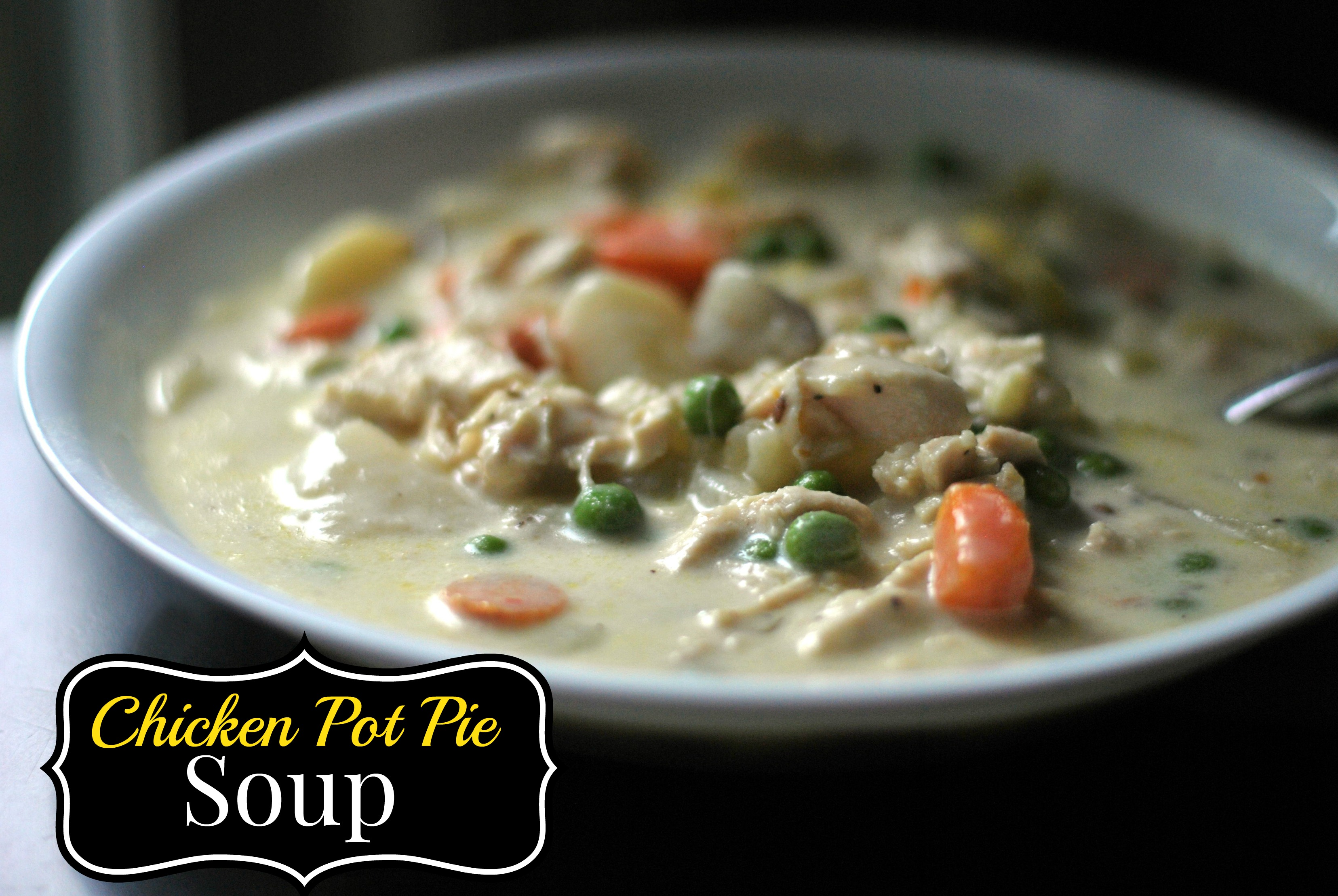 Chicken Pot Pie Soup - Aunt Bee's Recipes
