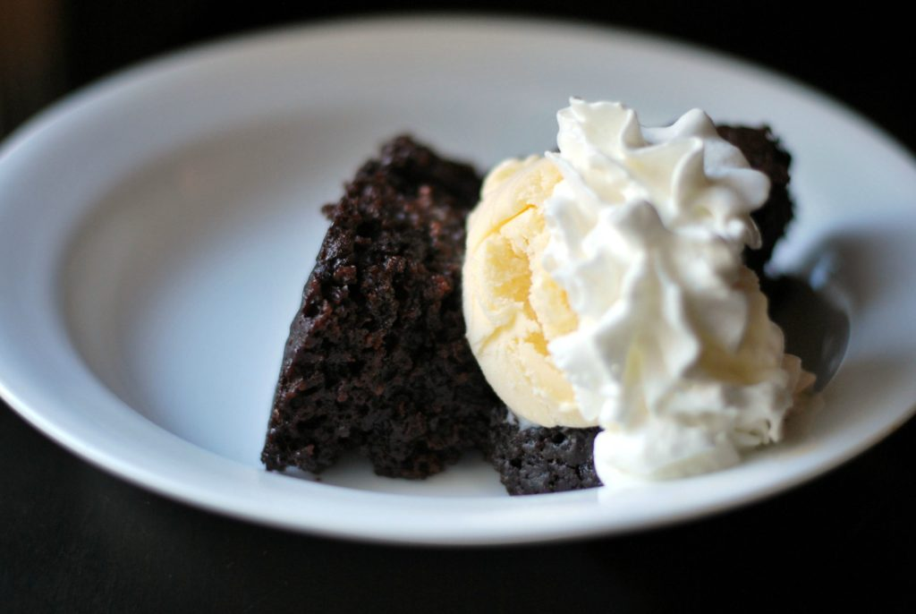 Triple Chocolate Crock Pot Cake | Aunt Bee's Recipes