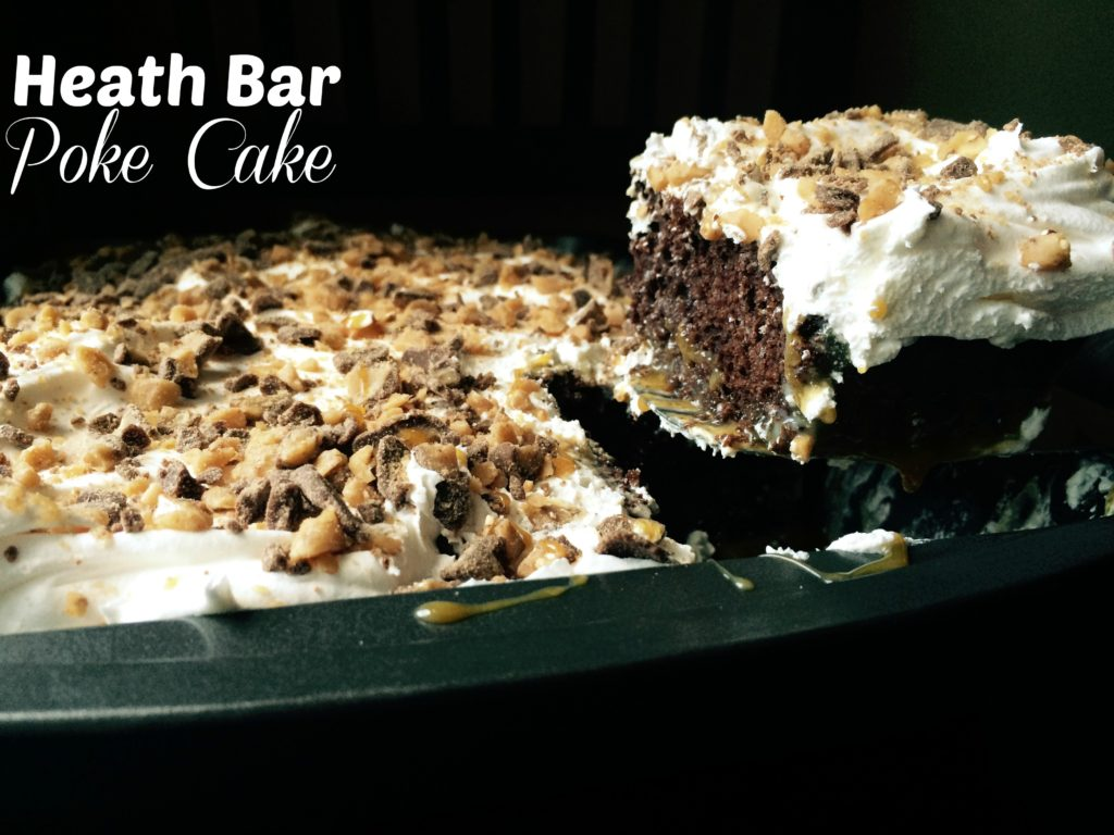 Heath Bar Poke Cake | Aunt Bee's Recipes
