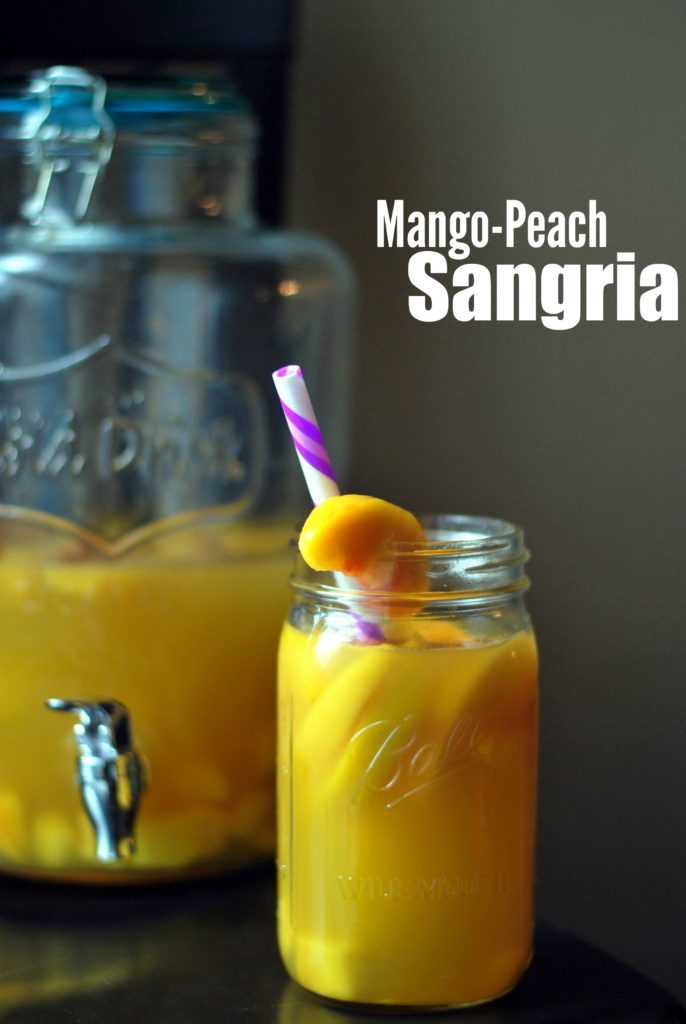 Mango Peach Sangria | Aunt Bee's Recipes