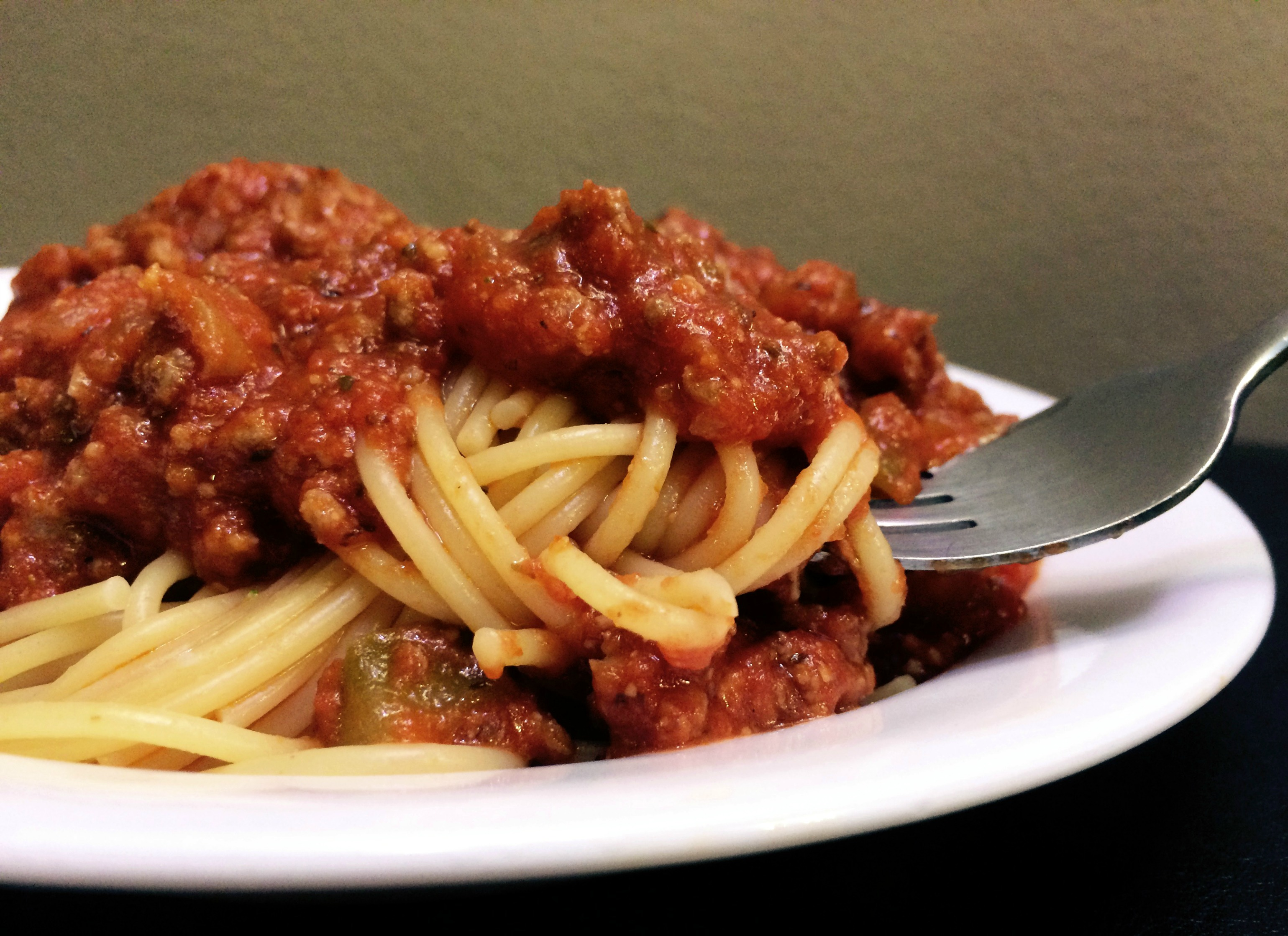 Spaghetti Amp Meat Sauce Aunt Bee S Recipes
