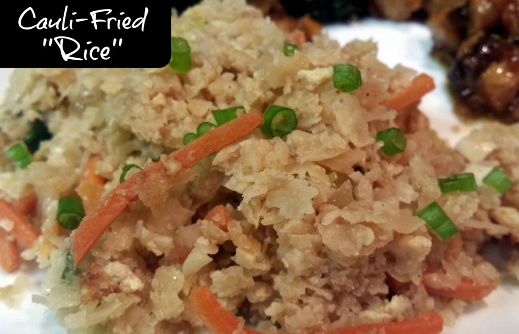 Cauli-Fried ''Rice'' | Aunt Bee's Recipes