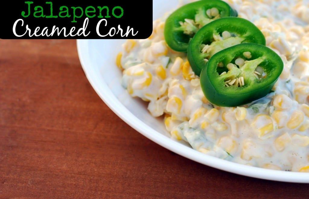 Jalapeno Creamed Corn | Aunt Bee's Recipes
