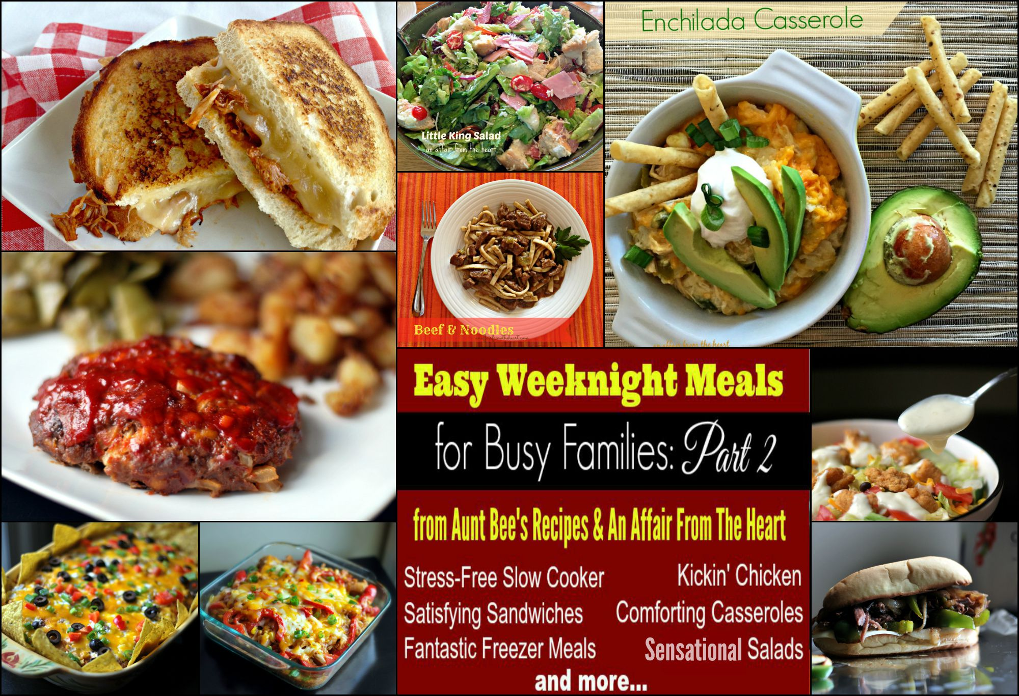 Easy Weeknight Meals For Busy Families Part 2