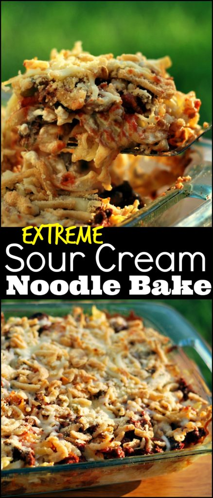Extreme Sour Cream Noodle Bake | Aunt Bee's Recipes