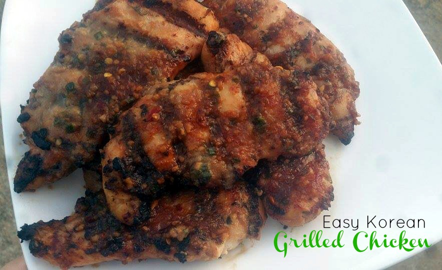 Easy Korean Grilled Chicken  | Aunt Bee's Recipes