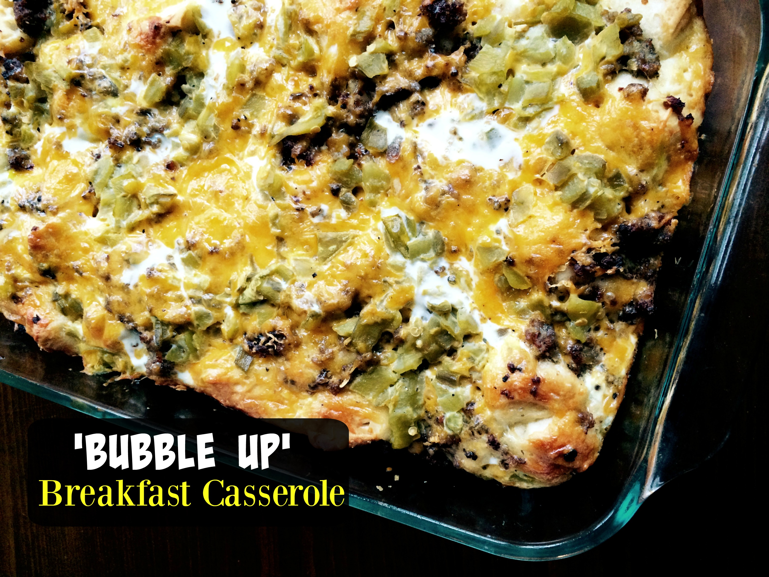 'Bubble Up' Breakfast Casserole