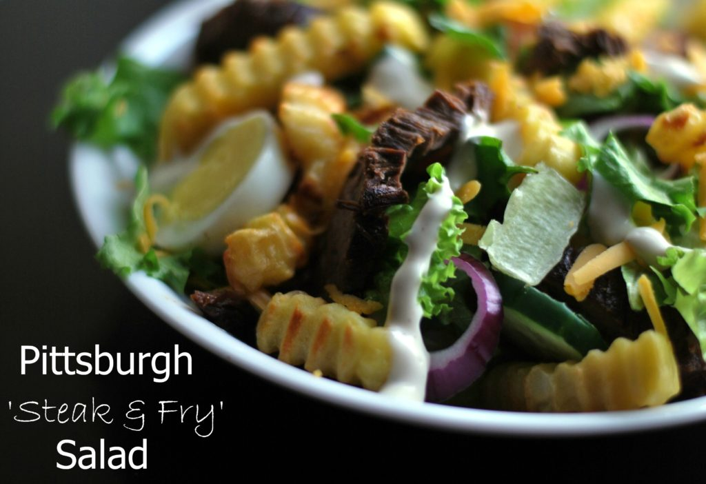 Pittsburgh Salad 'Steak & Fry' Salad | Aunt Bee's Recipes