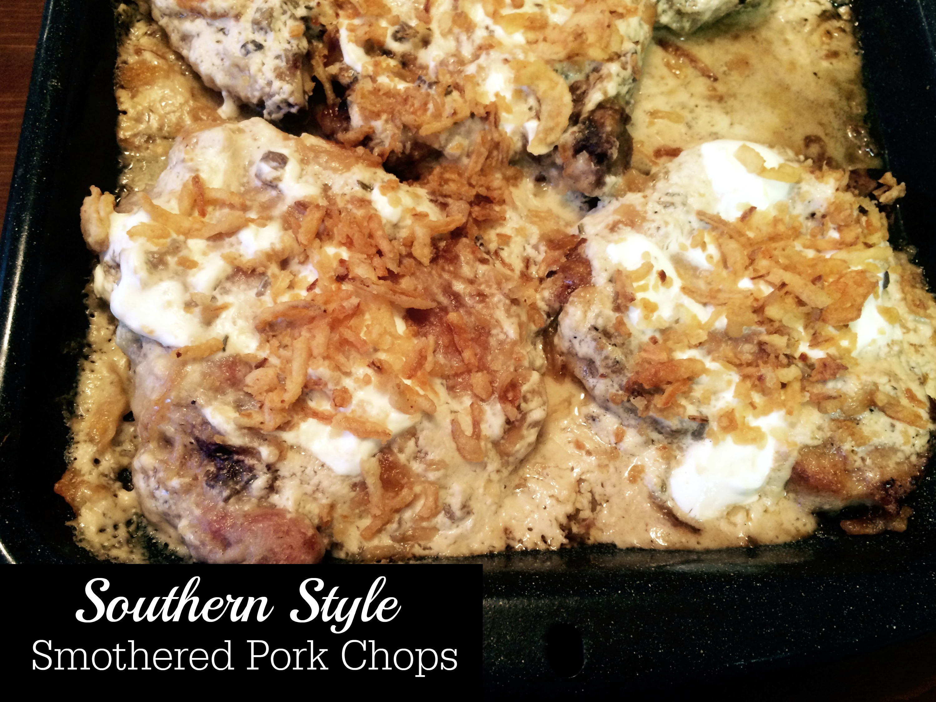 39 southern style 39 smothered pork chops aunt bee 39 s recipes