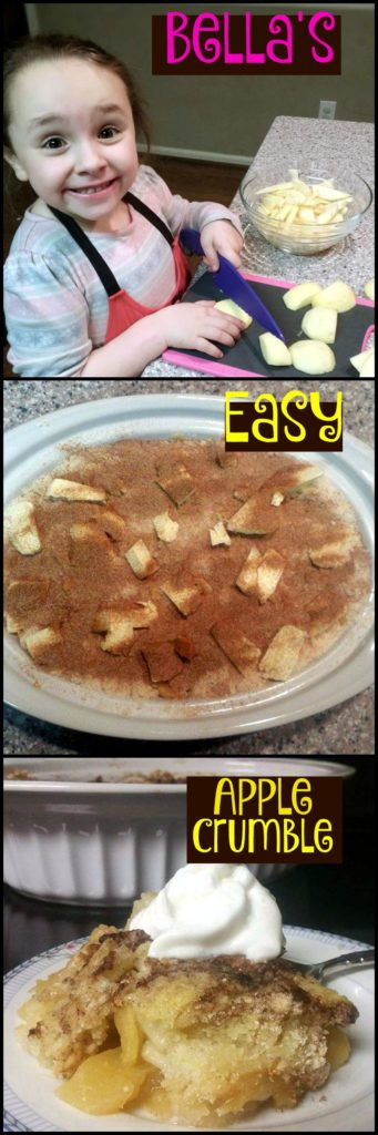 Bella's Easy Apple Crumble  | Aunt Bee's Recipes