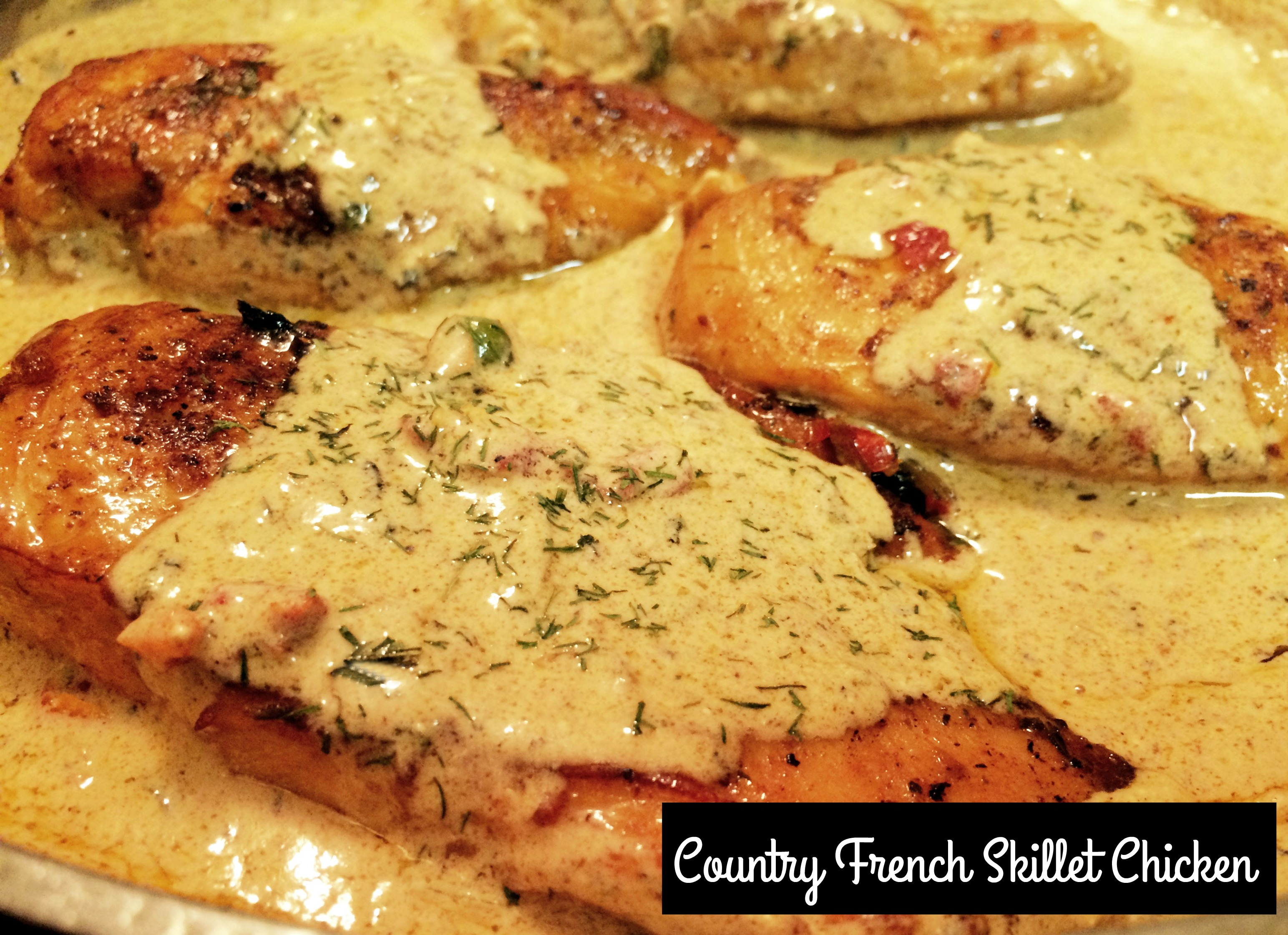 Country French Skillet Chicken Aunt Bee S Recipes