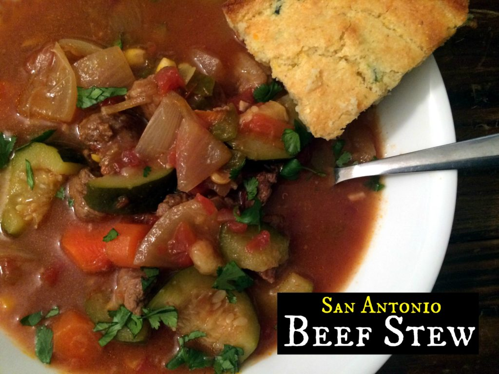 San Antonio Beef Stew | Aunt Bee's Recipes