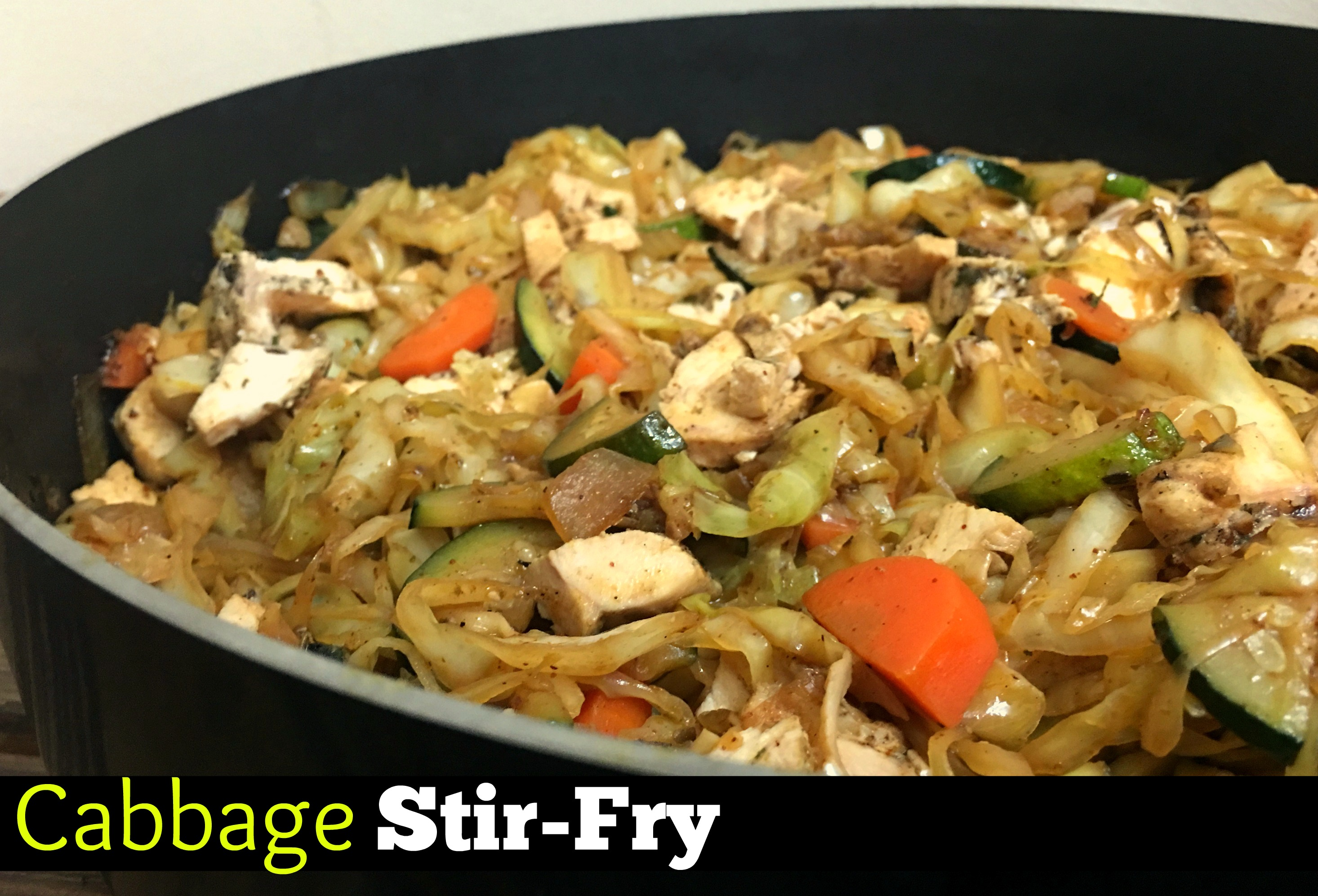 Cabbage Stir-Fry