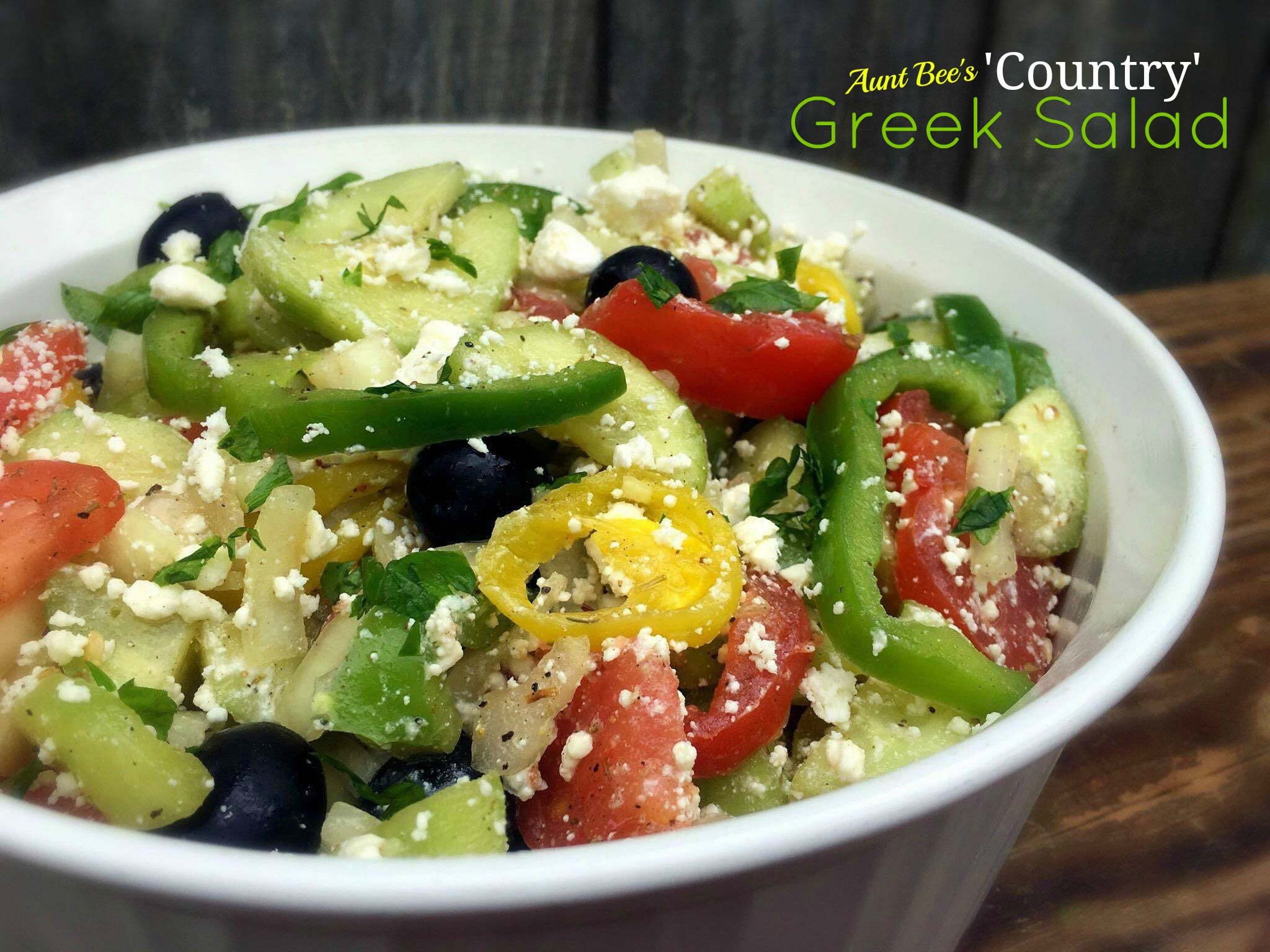 'Country' Greek Salad