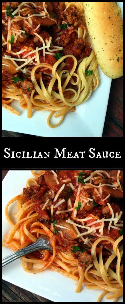 Sicilian Meat Sauce | Aunt Bee's Recipes