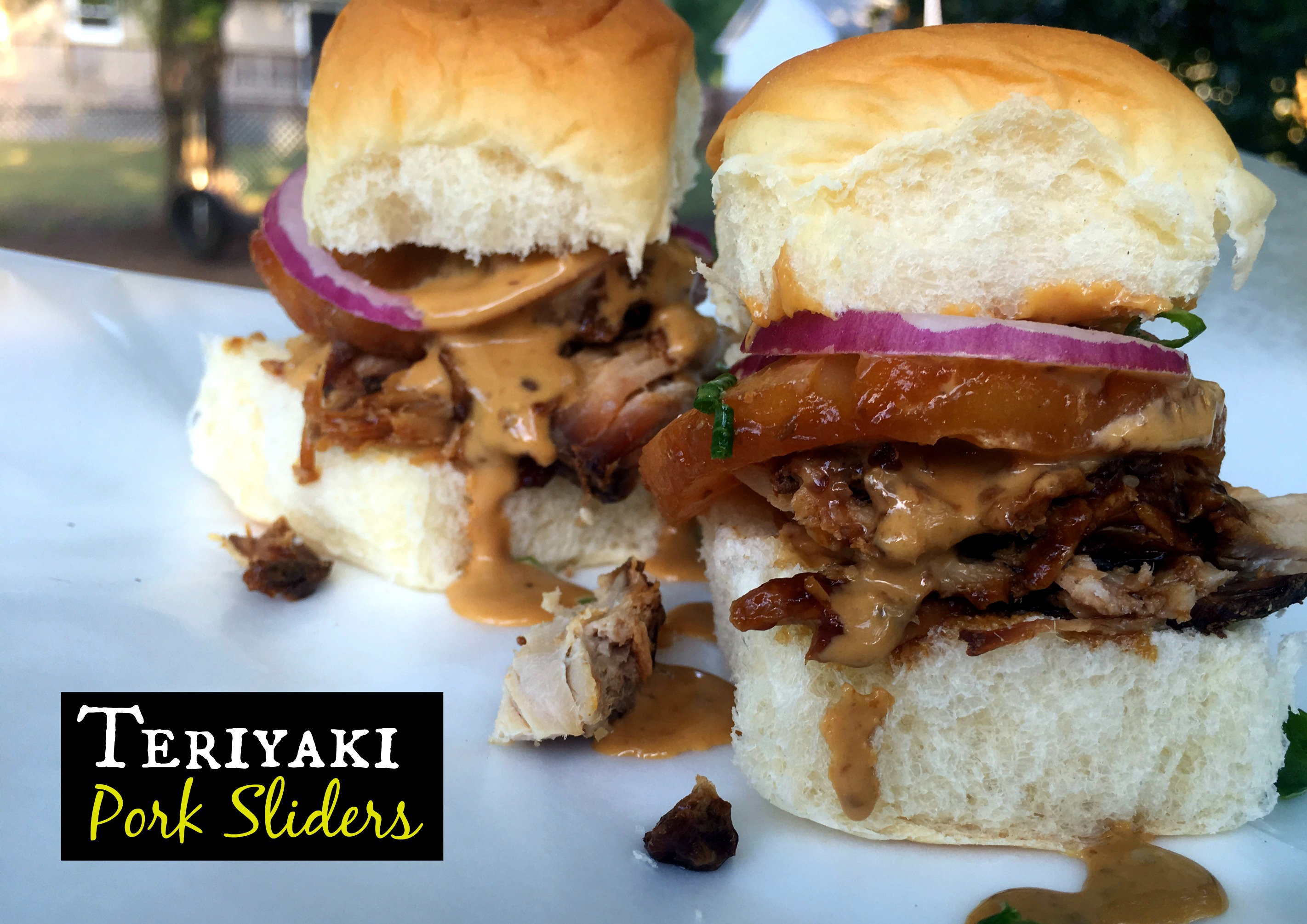 Teriyaki Pork Sliders