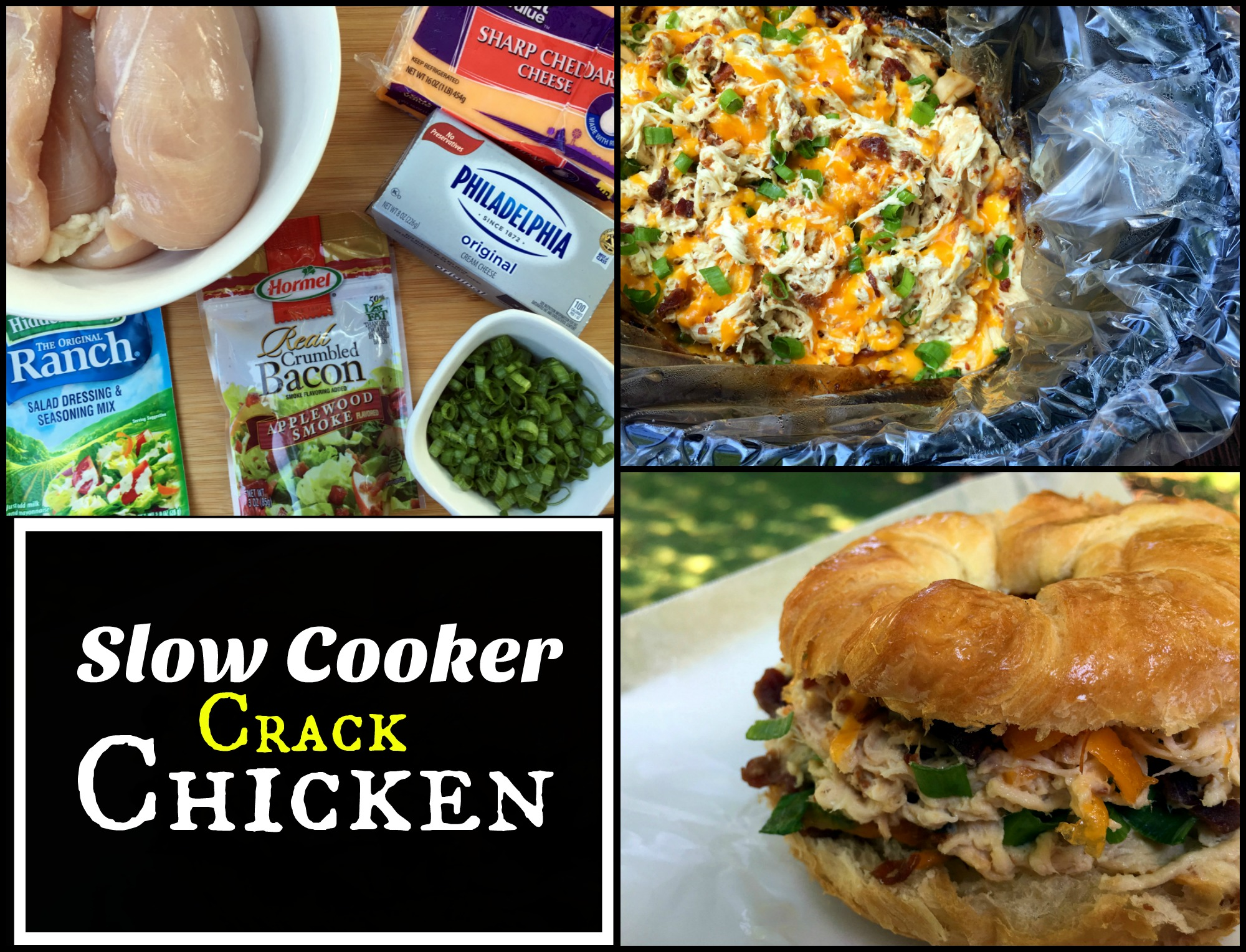Slow cooker crack chicken aunt bees recipes forumfinder Choice Image