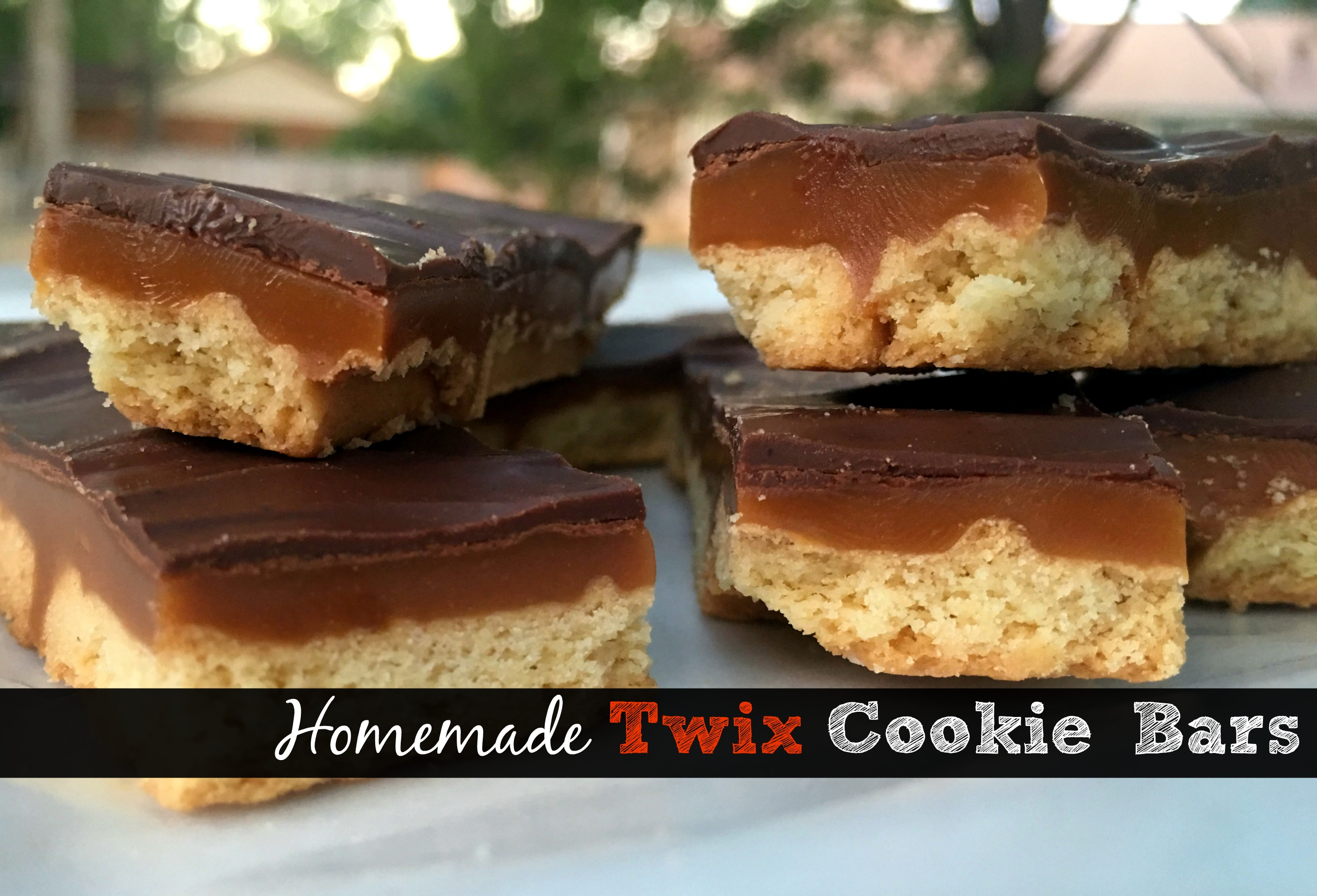 Twix Cookie Bars