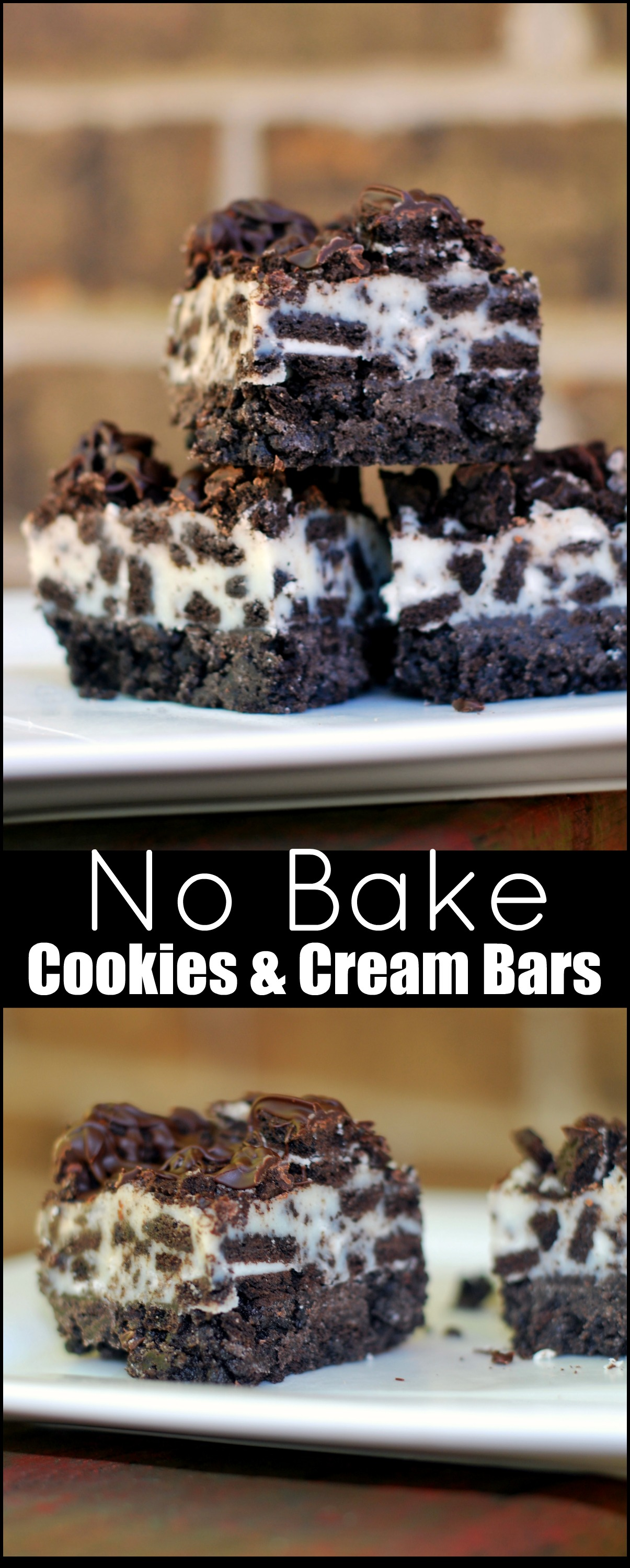 No Bake Cookies Cream Bars Aunt Bee S Recipes