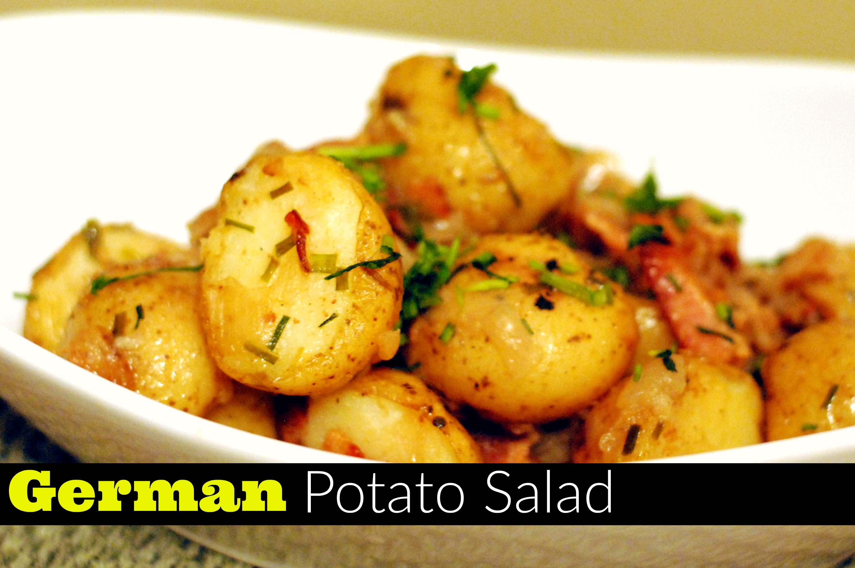 German Potato Salad - Aunt Bee's Recipes