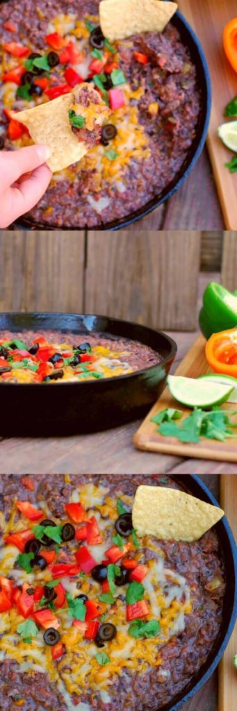 Southwestern Refried Dip | Aunt Bee's Recipes