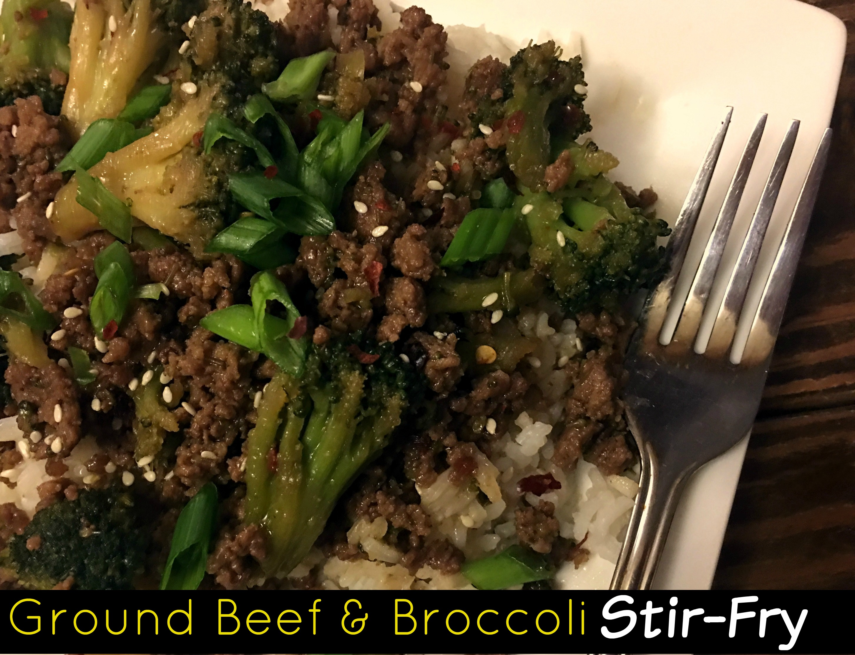 Ground Beef Amp Broccoli Stir Fry Aunt Bee S Recipes
