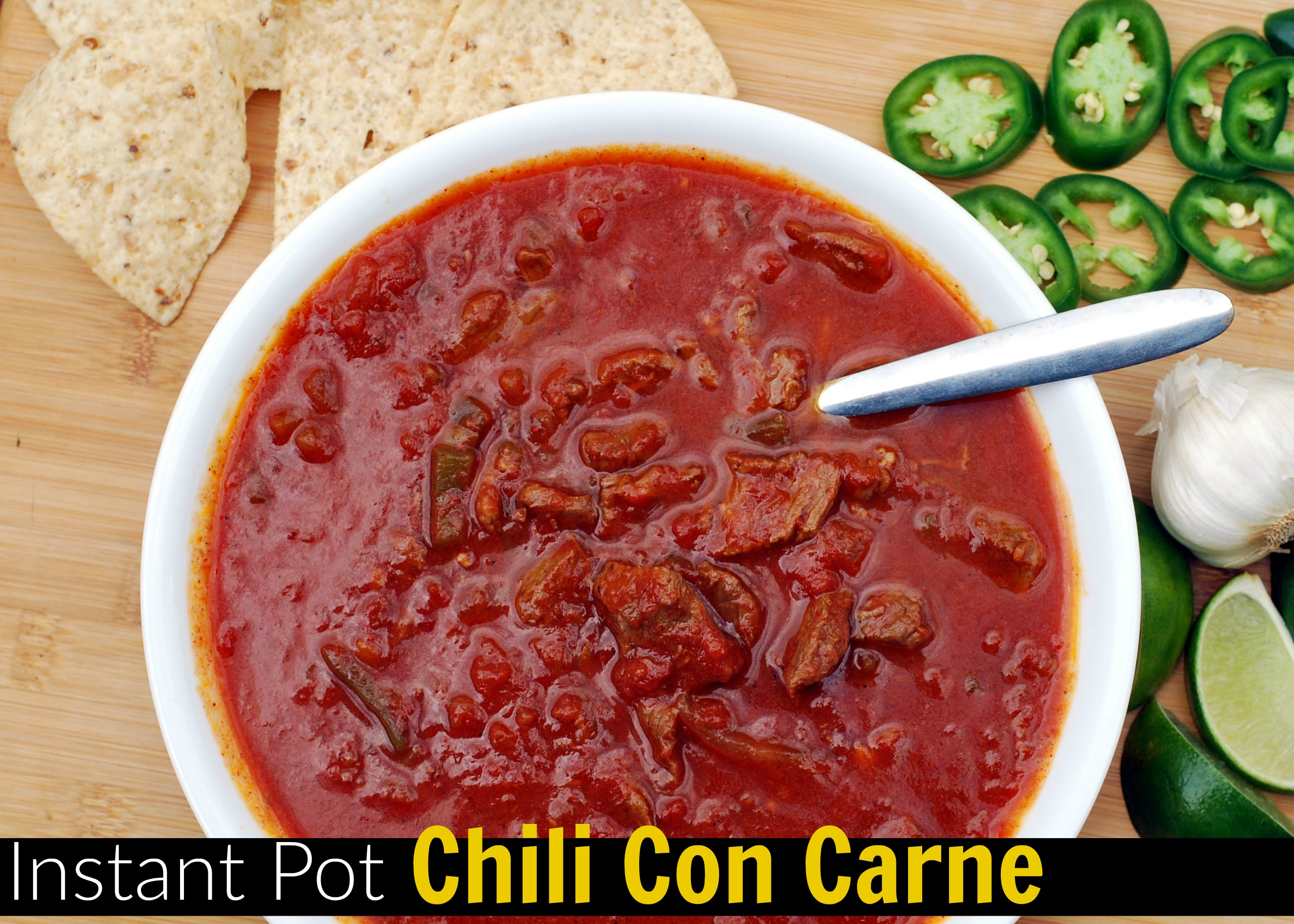Instant Pot Chili con Carne