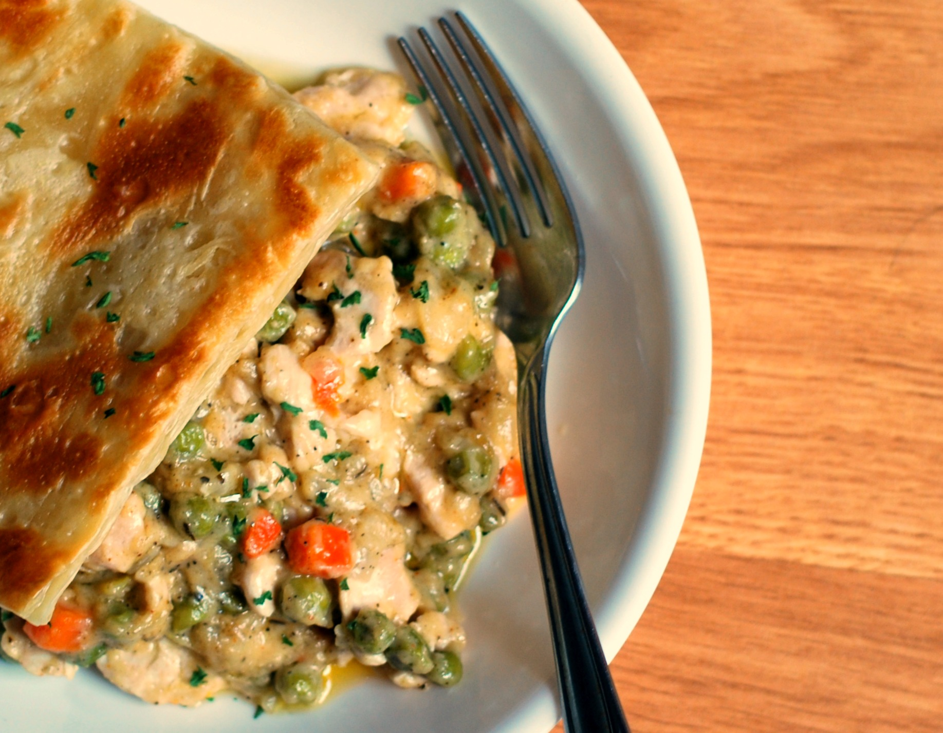 Dinner Thyme Chicken Pot Pie 2