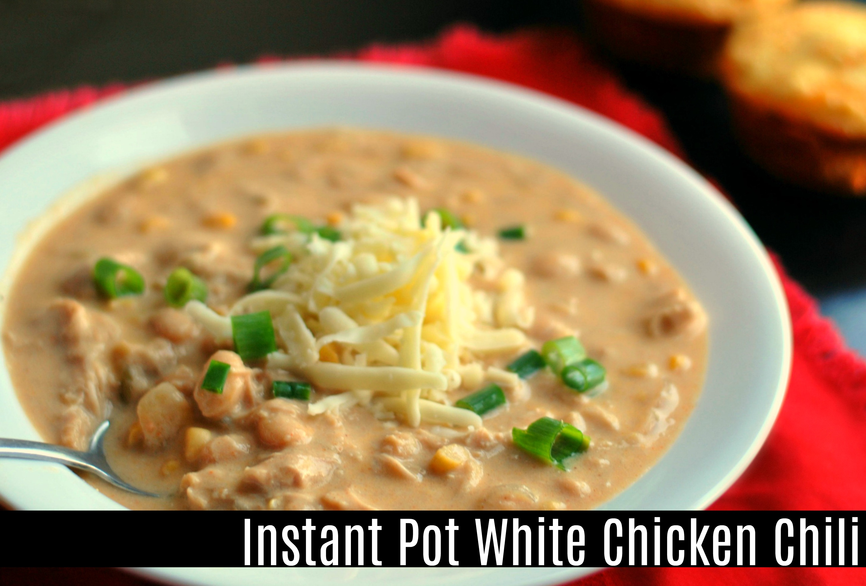Instant pot white chicken chili aunt bee 39 s recipes for Chicken recipes for the instant pot