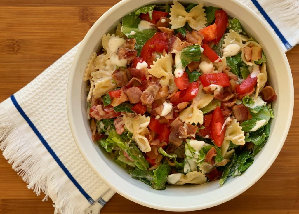 BLT Pasta Salad | Aunt Bee's Recipes